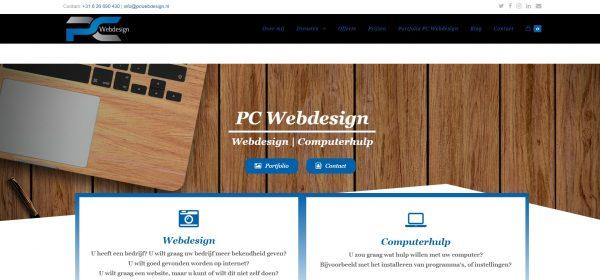 PC Webdesign website